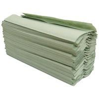Maxima Green C-Fold Hand Towel 1Ply Pk20