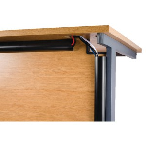 Image for D-Line Desk Trunking 1.5m Blk 2D155025B (0)
