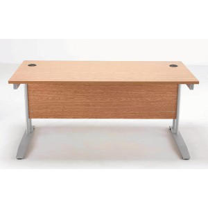 Image for FF Arista 1200mm Rectangular Desk Beech (1)