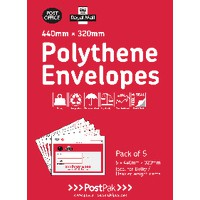 Polythene 240x320 Envelopes Pk40