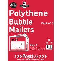 Polythene Size 3 Bubble Mailer Pk13