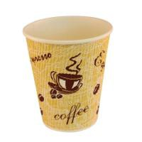 4Aces Ripple Red Bean 8oz Paper Cup P500