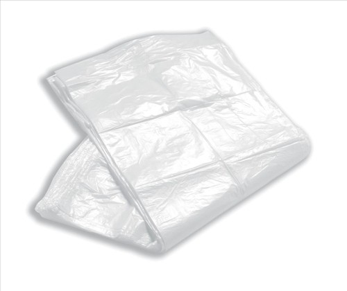 5 Star Facilities Swing Bin Liner Medium Duty 40L Capacity W330xD220xH750mm 12 Micron White [Pack 100]