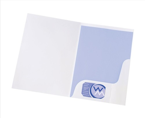 5 Star Pres Folder White Gloss WB100410
