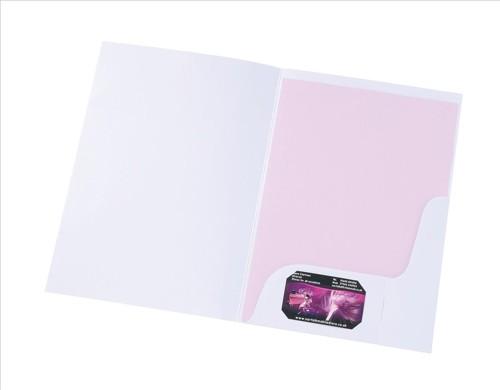 5 Star Office Corporate Presentation Folder Matt White [Pack 50]