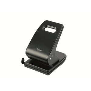 Rexel V240 Value Punch 2-Hole Metal Capacity 40x 80gsm Black Ref 2103653