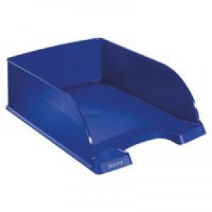Leitz Jumbo Letter Tray Blue