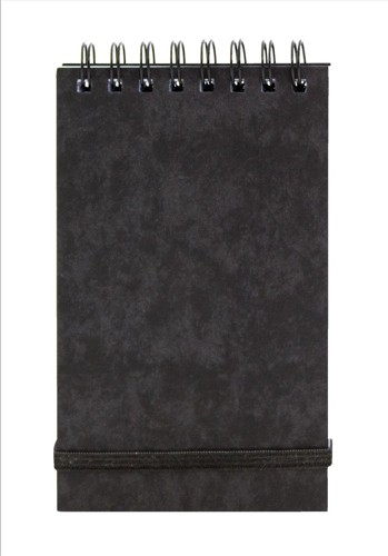 Headbound Note Pad 127x76mm Blk