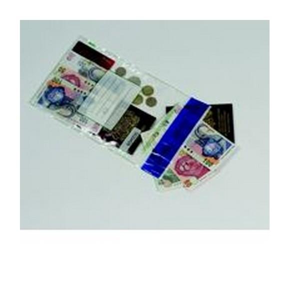 PostSafe Tamper Evident Env C4 220x305mm Clear PK20