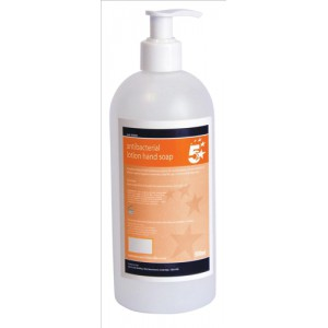 5 Star Anti-Bacterial Lotion Soap 500ml