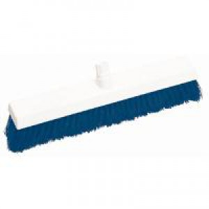 Scott Young Research Hygiene Broom Hard 12 inch Blue Ref 4027882