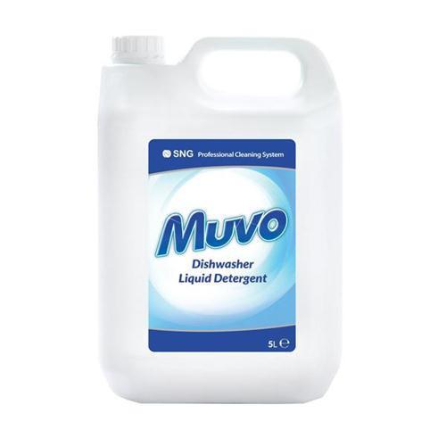 Muvo Pro Dishwasher Cleaning Liquid 5 Litres Ref M5LTRDD
