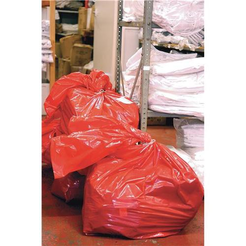 Laundry bags Red 80 Ltr RSB/4 Pk200