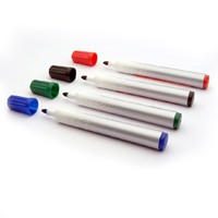 Bullet Tip Assorted Permanent Marker Pk4