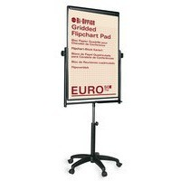 Bi-Office White Performer Lift Easel