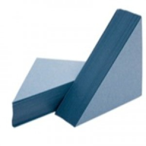 Guildhall Legal Corners Recycled Manilla 315gsm Blue Ref GLC-BLUZ [Pack 100]