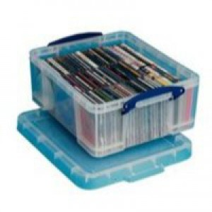 Really Useful 18Ltr Storage Box CD/DVDs