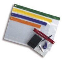 Snopake EVA Zippa Bag A3 Assorted Pk3