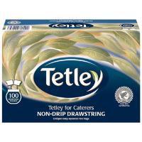 Tetley Tea Bags Drawstring Non Drip Ref 0403158 [Pack 100]