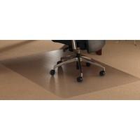 FloortexChairMatContoured990x1250mmClear