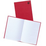 Image for Business Manuscript Book Casebound Ruled 192 Pages A5 [Pack 5]