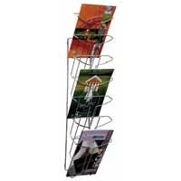 ALBA WALL MOUNTED 7 TIER LIT HOLDER CHRM