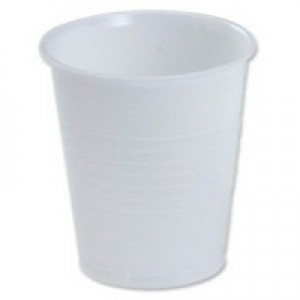 MyCafe Vending Cup Tall 7oz White Pk100