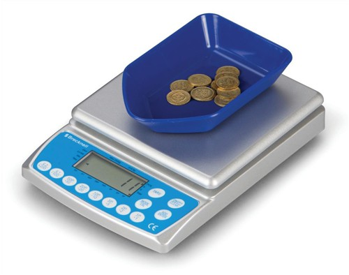 Brecknell Coin Counter Electronic Checking Scale for all UK Coins Ref CC-804