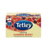 Tetley Raspberry&Pom Tea Bags Pk25 1580a