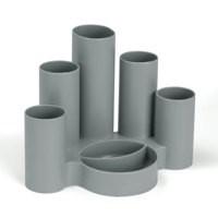 Value Deflecto Tube Tidy Grey
