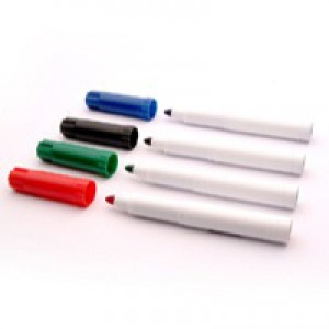 Flipchart Marker Pack-4 Assorted