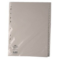 White A4 1-31 Index Dividers