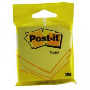 Image for 3M Post-it Note 76mmx76mm Yellow 6820 (1)