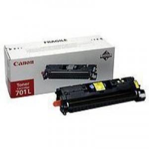 Canon 701L Yellow Toner Cartridge