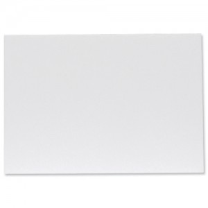Display Board Lightweight Durable CFC Free W762xD3xH1016mm White [Pack 40]