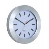 Image for Wall Clock Brushed Aluminium Case Diameter 300mm