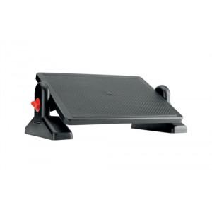 Office Footrest ABS Plastic Easy Tilt H115-145mm Platform 415x305mm