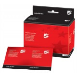 Image for 5 Star Cleaning Sachets for Telephone Bactericidal Non-hazardous [Pack 50]
