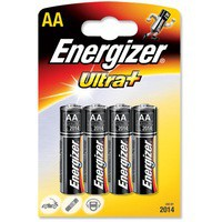 Energizer Ultra Battery AA/LR6 PK4
