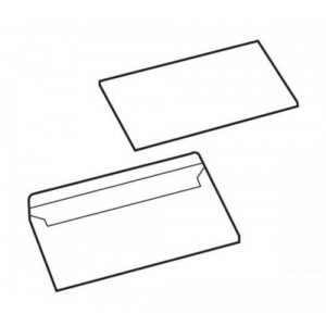 Basics Envelopes Press Seal Non-Window 90gsm DL Ref 1081 [Pack 1000]
