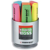 Stabilo Boss Highlighter Pk6 Asstd 7006