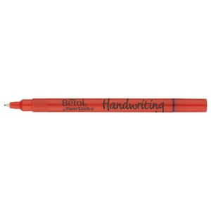 Berol Handwriting Clip Pen Blue Pack of 12 3P