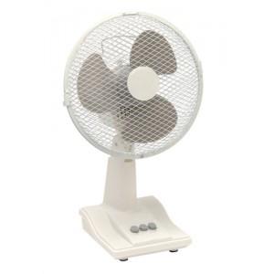 5 Star Facilities Desk Fan Oscillating Tilt and Lock 48.5Db 3 Speed H480mm Dia.305mm