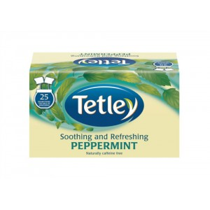 Tetley Mint Fusion Tea Bags Finest European-sourced Individually-wrapped Ref 1576a [Pack 25]