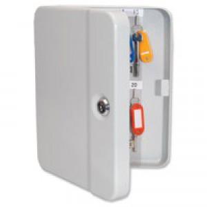 Key Safe with 20 Numbered Key Hooks