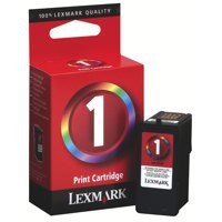 Lexmark No. 1 Inkjet Cartridge Page Life 200pp Colour Ref 18CX781E