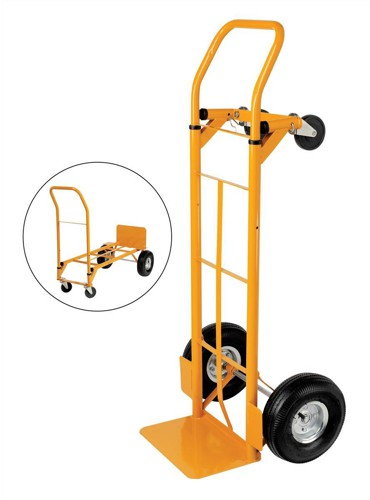 5 Star Facilities Universal Hand Trolley and Platform Truck Capacity 250kg Foot Size W550xL460mm