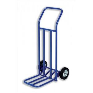 Hand Trolley General Capacity 160kg Wheel 205mm Foot Size W565xL640mm Blue Ref HT1585 [287998]