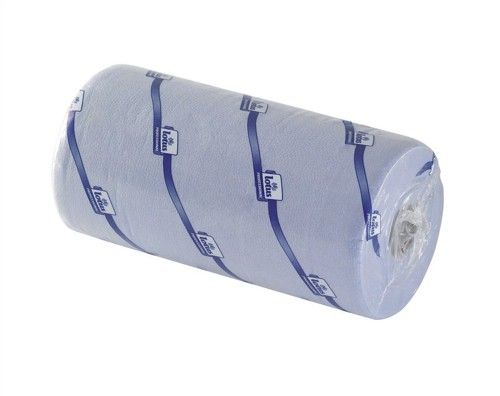 5 Star Facilities Hygiene Roll 10 Inch Width 100 per cent recycled 2-ply 130 Sheets W251xL457mm 40m Blue