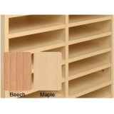 Image for Tercel Post Room Shelves for Sorter Base Beech [Pack 5]